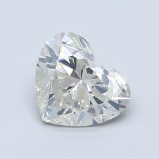 Current Stone: 1.02-Carat Heart Shaped