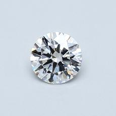 Recommended Stone #4: 0,43-Carat Round Cut