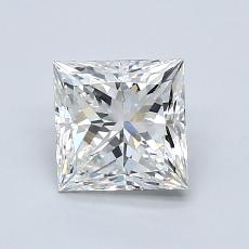 Recommended Stone #1: 1.10-Carat Princess Cut