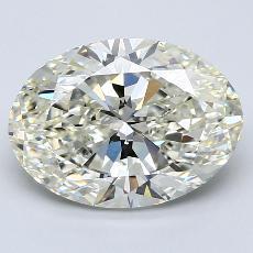 推薦鑽石 #2: 3.24  克拉橢圓形切割