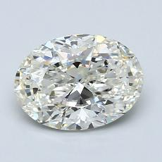 Recommended Stone #1: 1,51-Carat Oval Cut