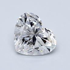 Recommended Stone #3: 1.07-Carat Heart Shaped