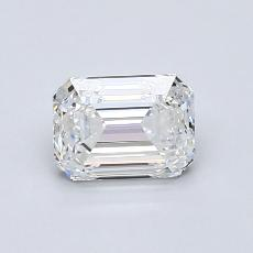 Recommended Stone #2: 0,90-Carat Emerald Cut