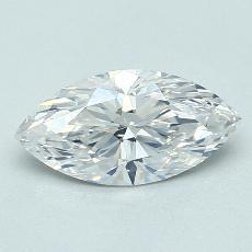 推薦鑽石 #1: 1.22 克拉欖尖形切割