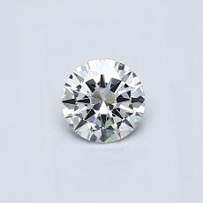 Recommended Stone #3: 0.31-Carat Round Cut