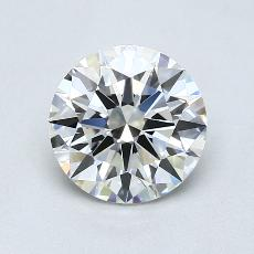 Recommended Stone #1: 1.40-Carat Round Cut