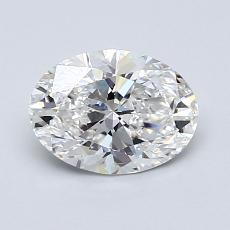 Recommended Stone #2: 1.06-Carat Oval Cut