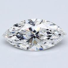 1.01-Carat Marquise Diamond Very Good G SI1
