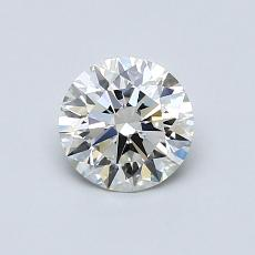 Recommended Stone #1: 0.70-Carat Round Cut