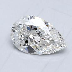 Recommended Stone #1: 0,73-Carat Pear Shaped