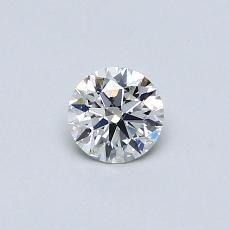 Recommended Stone #3: 0.37-Carat Round Cut
