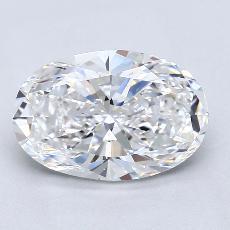 推薦鑽石 #4: 2.51  克拉橢圓形切割