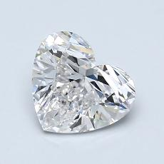 Recommended Stone #3: 1.18-Carat Heart Shaped