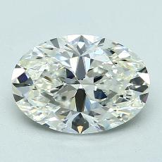 Recommended Stone #2: 2.03-Carat Oval Cut
