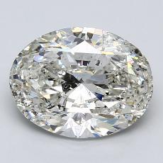 推薦鑽石 #4: 3.00  克拉橢圓形切割
