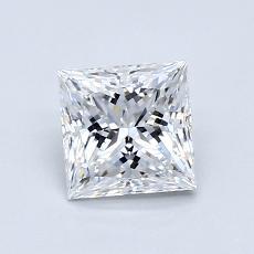 推荐宝石 3:0.83 克拉公主方型切割