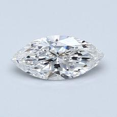 Recommended Stone #1: 0.60-Carat Marquise Cut