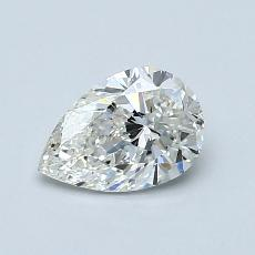 Recommended Stone #1: 0,75-Carat Pear Shaped