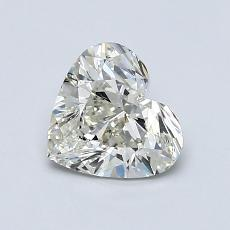 Recommended Stone #4: 0.91-Carat Heart Shaped