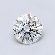 Recommended Stone #4: 0,80-Carat Round Cut