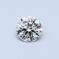 推荐宝石 1:0.41 克拉圆形切割