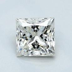 推荐宝石 1:1.03 克拉公主方型切割