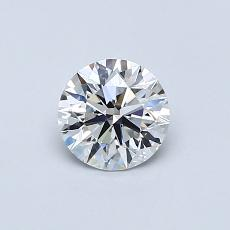 Recommended Stone #4: 0.58-Carat Round Cut