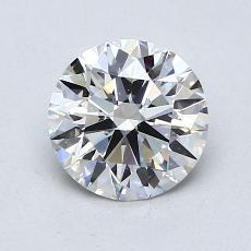 推荐宝石 3:1.11 克拉圆形切割
