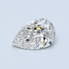 Recommended Stone #2: 0,61-Carat Pear Shaped