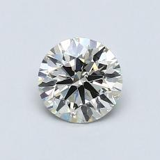 推荐宝石 4:0.70 克拉圆形切割