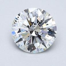 推荐宝石 2:1.23 克拉圆形切割
