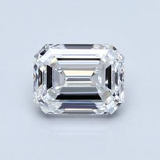 Recommended Stone #1: 1,00-Carat Emerald Cut