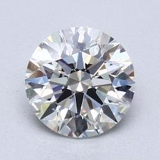 Piedra recomendada 3: Talla redonda de 1.31 quilates