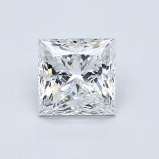 Recommended Stone #2: 0.90-Carat Princess Cut