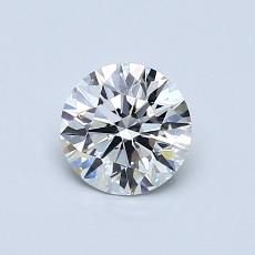 Recommended Stone #1: 0,65-Carat Round Cut