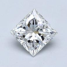 Recommended Stone #3: 1.57-Carat Princess Cut
