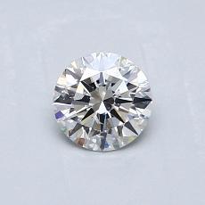 推荐宝石 2:0.45 克拉圆形切割