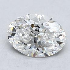 Piedra recomendada 2: Talla ovalada de 1.31 quilates