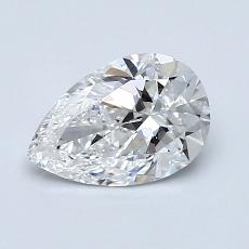 Recommended Stone #2: 0.90-Carat Pear Shaped