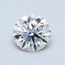 Recommended Stone #1: 1.00-Carat Round Cut