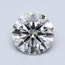 推荐宝石 4:1.07 克拉圆形切割