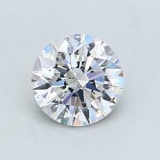 推薦鑽石 #1: 1.00  克拉圓形切割
