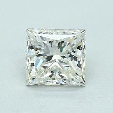 推荐宝石 2:1.03 克拉公主方型切割
