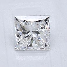 推薦鑽石 #4: 1.01 克拉公主方形切割