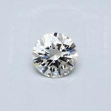 Recommended Stone #4: 0,25-Carat Round Cut