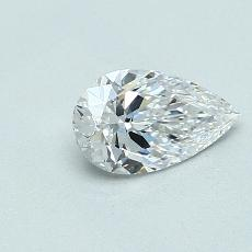 Recommended Stone #4: 0,70-Carat Pear Shaped