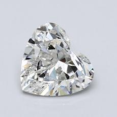 Recommended Stone #2: 1.02-Carat Heart Shaped