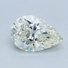 1.02-Carat Pear Diamond Very Good J VS2