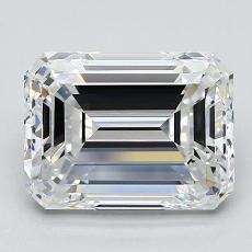 Recommended Stone #4: 3.03-Carat Emerald Cut Diamond