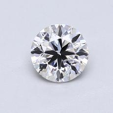0,70-Carat Round Diamond Good F SI2